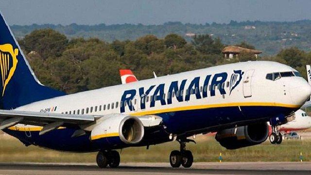 Ryanair розпродує 1 млн квитків на рейси до кінця осені