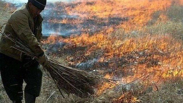 На Волині через спалювання сухої трави загинула 93-річна бабуся