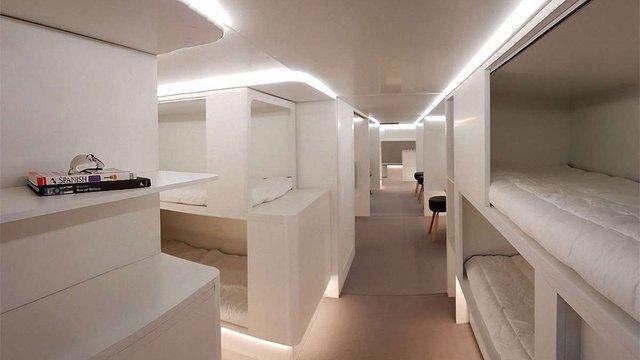 У літаках Airbus з'являться лежачі місця для трансатлантичних перельотів