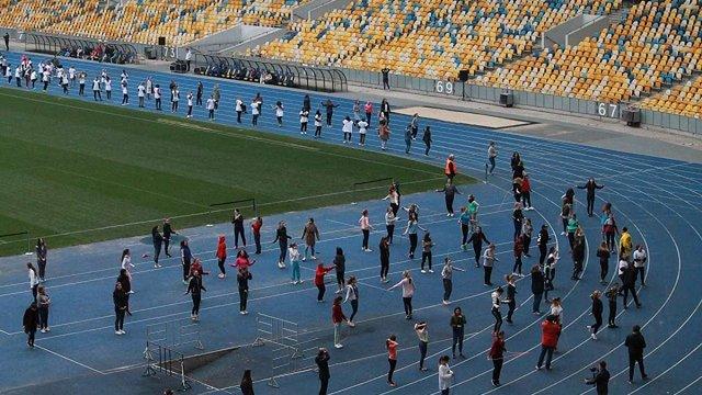 У Києві встановили рекорд України зі стрибків на скакалці