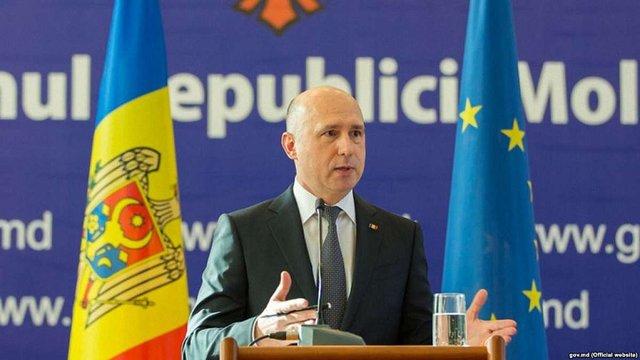 Прем'єр-міністр Молдови висловився за спільну заявку на вступ до ЄС з Україною і Грузією