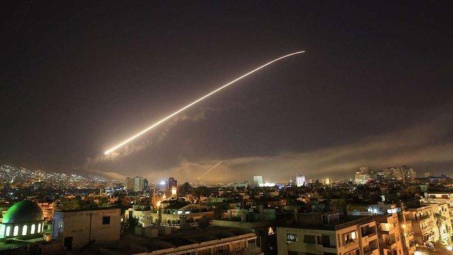 США, Британія і Франція завдали ракетного удару по Сирії
