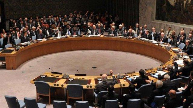 Рада безпеки ООН не прийняла резолюцію Росії із засудженням удару по Сирії