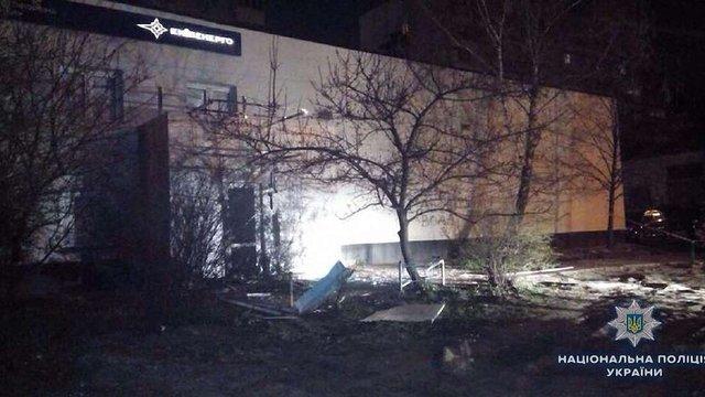 У Києві стався вибух біля будинку енергетичної компанії