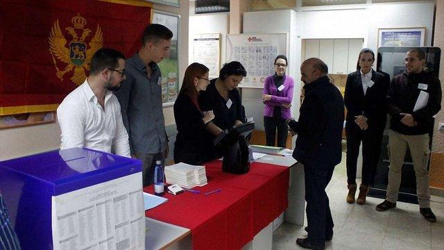 У Чорногорії розпочався перший тур президентських виборів