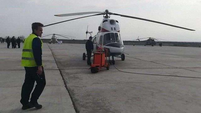 У Запоріжжі піднявся в повітря перший вертоліт українського виробництва