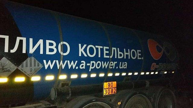 У поліції підтвердили затримання вантажівки із кислими гудронами з Грибовицького сміттєзвалища