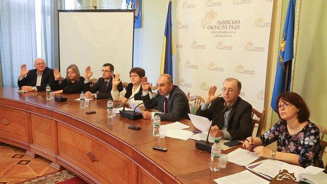 Депутати Львівської облради затвердили керівників дев'яти найбільших лікарень