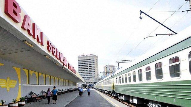 Наприкінці квітня між Києвом та Баку почне курсувати пасажирський потяг