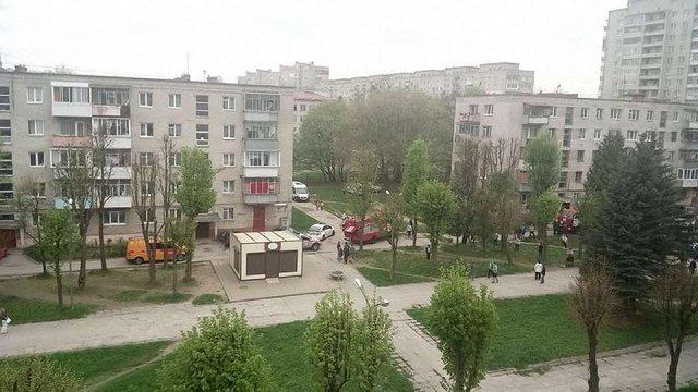 Через пожежу в квартирі на вулиці Гашека у Львові з будинку евакуювали 15 людей