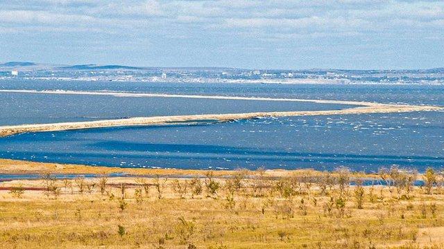 В окупованому Криму частину острова Тузла передали у федеральну власність РФ