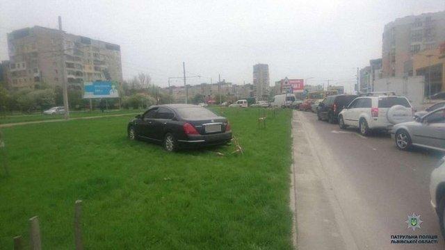 У Львові водію у стані наркотичного сп'яніння стало погано за кермом