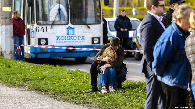 Сім з дев'яти загиблих під час ДТП в Кривому Розі були працівниками металургійного комбінату