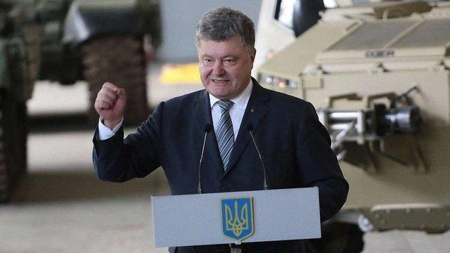 У п'ятницю до Львова приїде Петро Порошенко