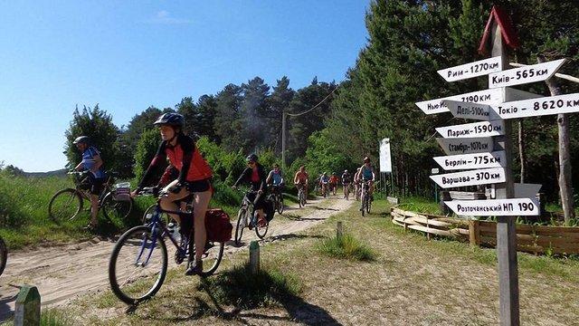 Вздовж Розточчя створять велосипедний туристичний маршрут