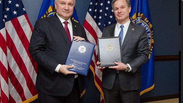 МВС і ФБР підписали офіційні документи про співпрацю