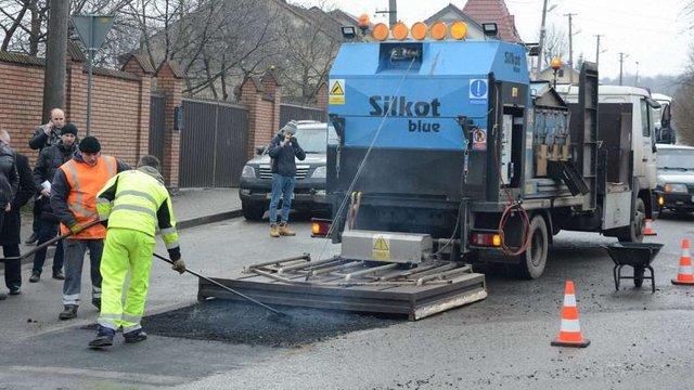 «Львівавтодор»  придбає обладнання для ремонту доріг взимку