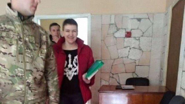 Надія Савченко пройшла експертизу на осудність