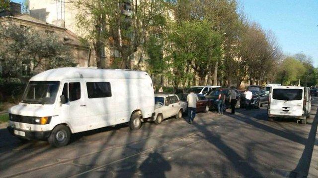 У Львові трапилась ДТП за участі п'яти автомобілів