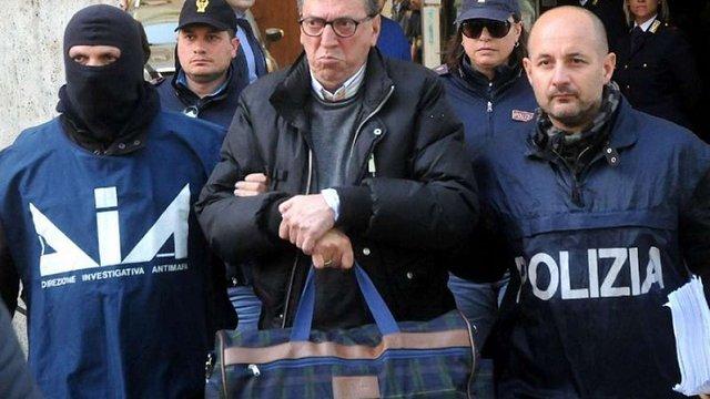 В Італії затримали найближчих спільників боса мафії «Коза ностра»