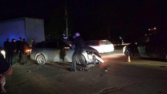 Втікаючи від поліції п'яний священик скоїв ДТП у Івано-Франківську