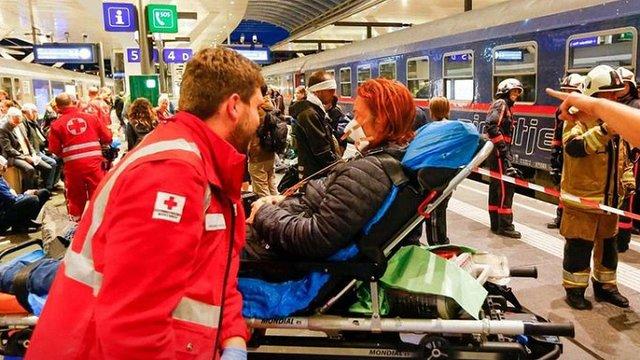 У залізничній аварії на вокзалі Зальцбурга постраждали 54 людини
