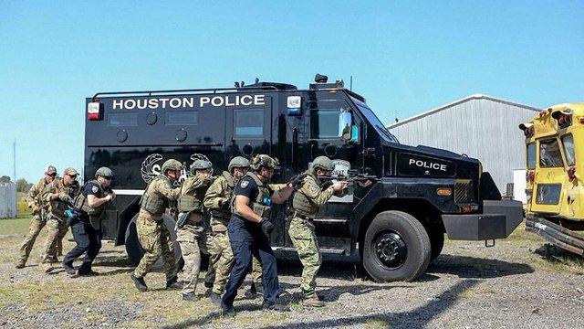 В Х'юстоні пройшли спільні тренінги SWAT та українського КОРД