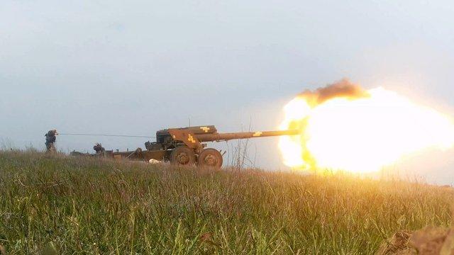 Українські ВМС провели бойові навчання біля окупованого Криму