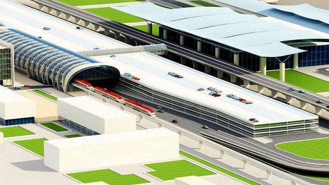 Частина залізниці до аеропорту «Бориспіль» буде підземною