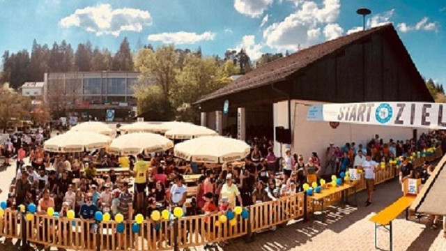 На благодійному забігу у німецькому містечку зібрали €20 тис. для львівської лікарні