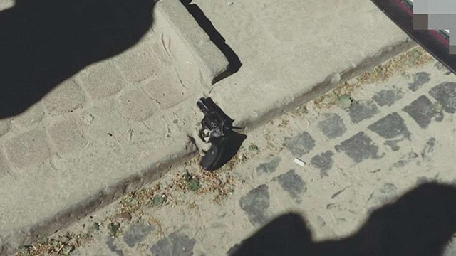 Патрульні затримали чоловіка, який погрожував львів'янину пістолетом