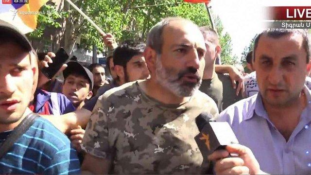 У Вірменії лідерів протестувальників звільнили з СІЗО