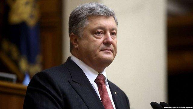 Оголошення України канонічною територією Москви є територіальною претензією, – Порошенко