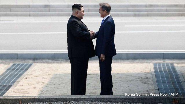 Лідери Північної і Південної Кореї провели історичну зустріч