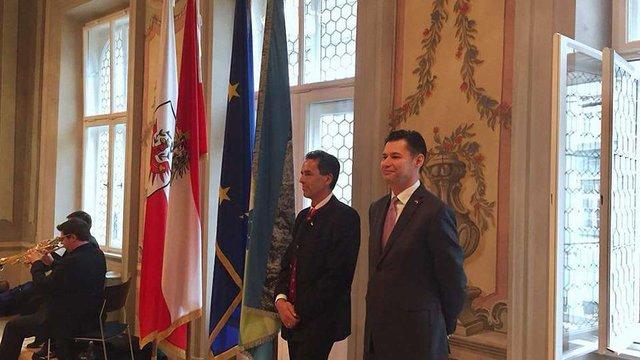 В австрійському Інсбруку відкрили почесне консульство України