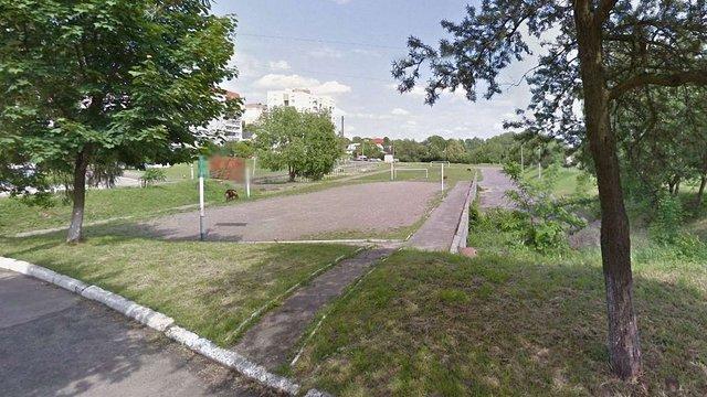 Спортивні майданчики поблизу школи №97 відремонтують за ₴1,88 млн