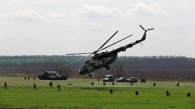 Українські десантники відпрацювали висадку в тил ворога