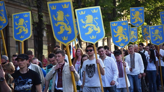 У Львові відбувся марш до 75-річчя заснування дивізії «Галичина»