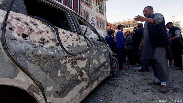 В столиці Афганістану внаслідок подвійного теракту загинули 29 людей