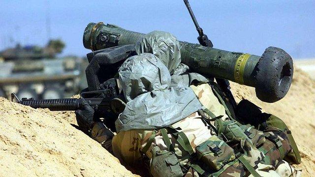 В Україну надійшли американські протитанкові комплекси Javelin