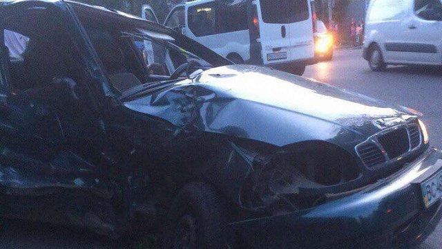 Унаслідок ДТП на вул. Городоцькій у Львові травмувалися двоє дорослих та дитина