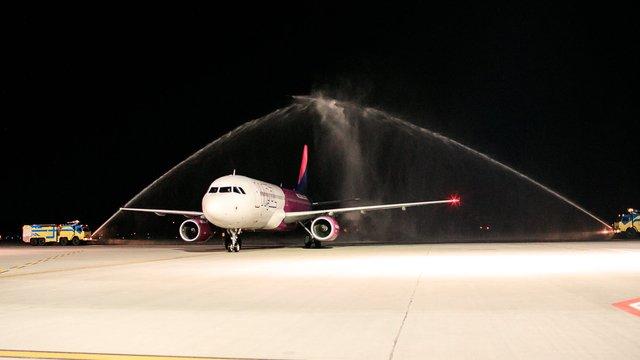 Перший авіарейс зі Львова до Лондона був заповнений майже на 100%