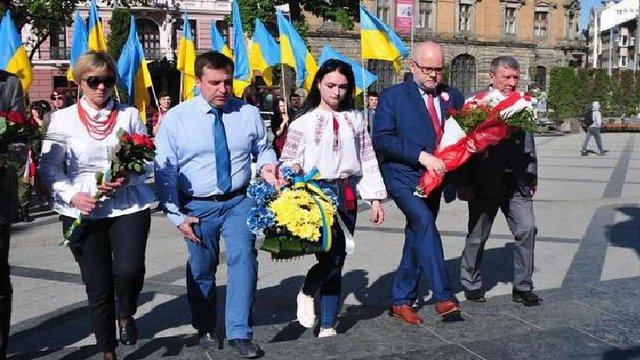 У Львові відзначили 227-му річницю конституції Польщі