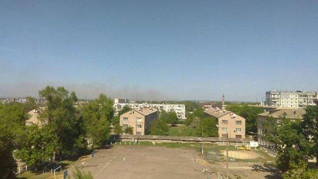 На арсеналах у Балаклії після утилізації боєприпасів почалася пожежа