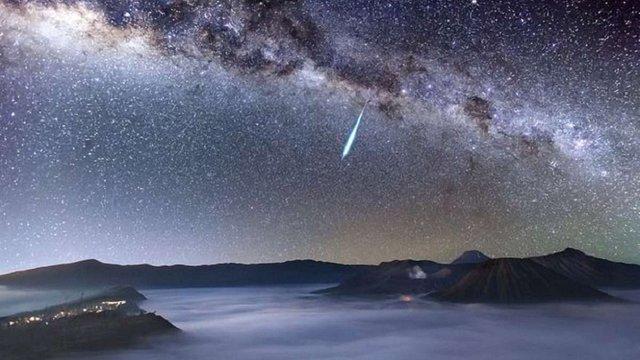 У ніч проти 6 травня у небі можна буде спостерігати пік метеоритного потоку Аквариди