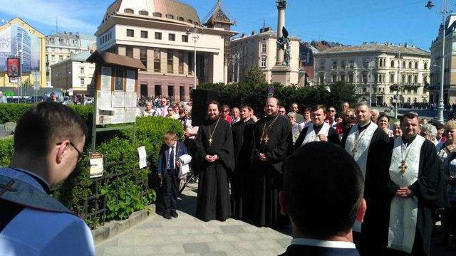 Представники усіх конфесій разом молилися за Львів та його мешканців