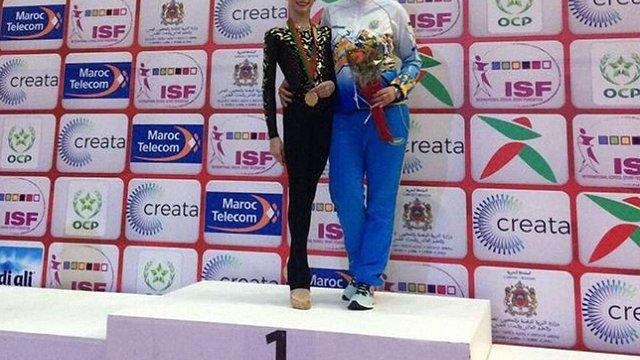 Львів'янка Христина Погранична здобула золоту медаль на Всесвітній гімназіаді