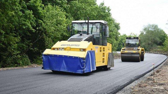 На Львівщині ремонтують дорогу Самбір-Дрогобич