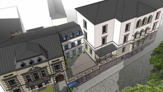 Біля парку Франка зведуть новий будинок та кав'ярню з терасою