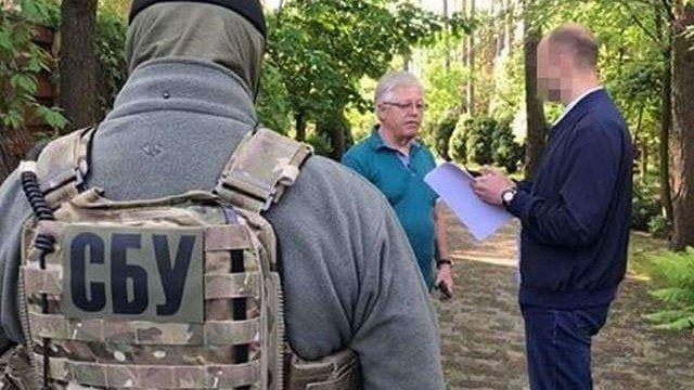 Під час обшуків у лідера КПУ Петра Симоненка СБУ вилучила пістолет і 120 патронів